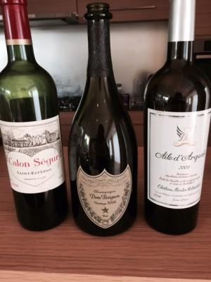 お祝い膳ワイン